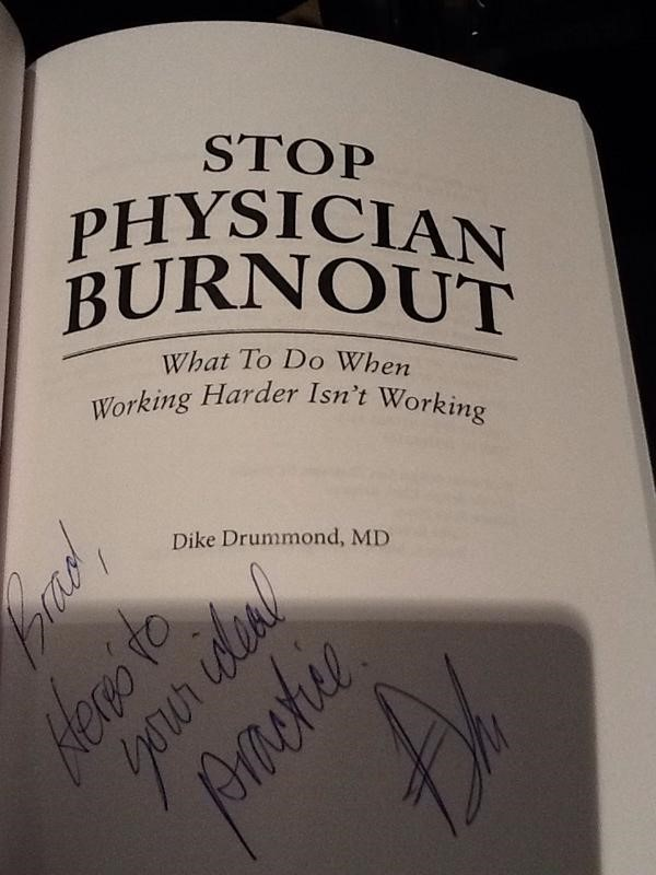 Stop-physician-burnout-book-cover-and-author-signature