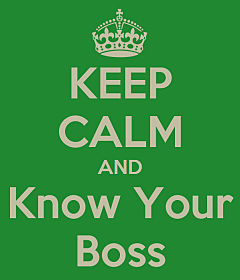 employed physician how to manage your boss keep calm meme opt