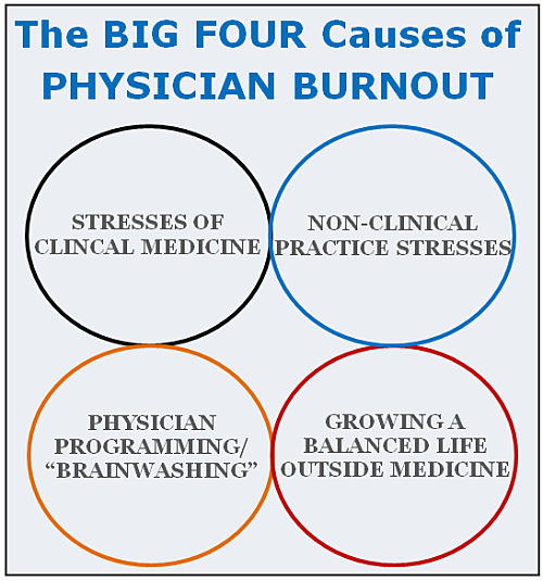 physician burnout causes the big four opt