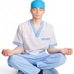 doctors and stress mindfulness meditation 150x150